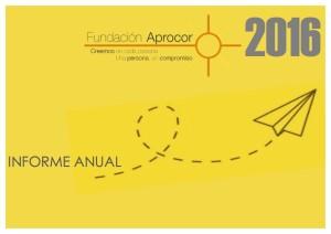Memoria economica Fundación Aprocor