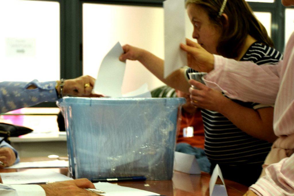 Votaciones primarias en Las Fuentes