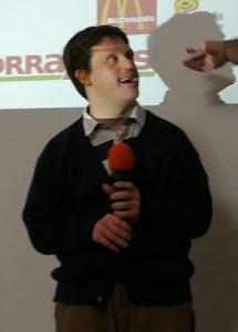 Pedro Miguel habla de sus experiencias