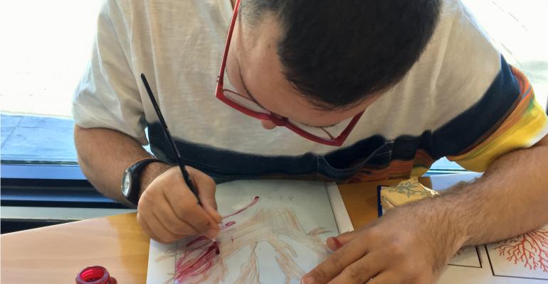 Hombre pintado