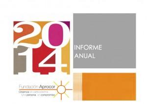 fundacion aprocor memoria de actividades 2014P