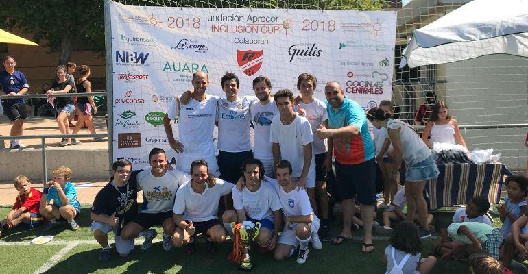 Equipo ganador del Torneo Inclusion Cup
