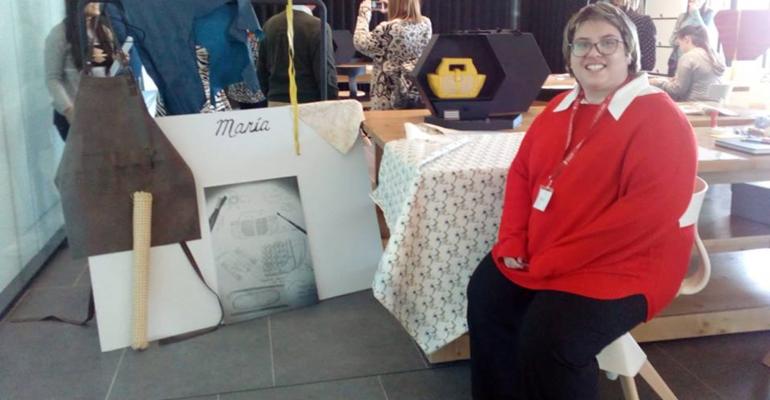 María Iglesias diseñará un bolso para Magalie